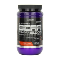 Flavored BCAA 12,000 Powder Fruit Punch 457g