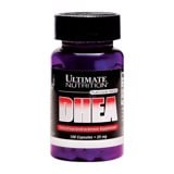 Ultimate Nutrition DHEA 100 Capsules (25mg)