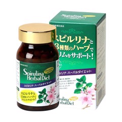 Japan Algea Spirulina Herbal Diet 300 vien