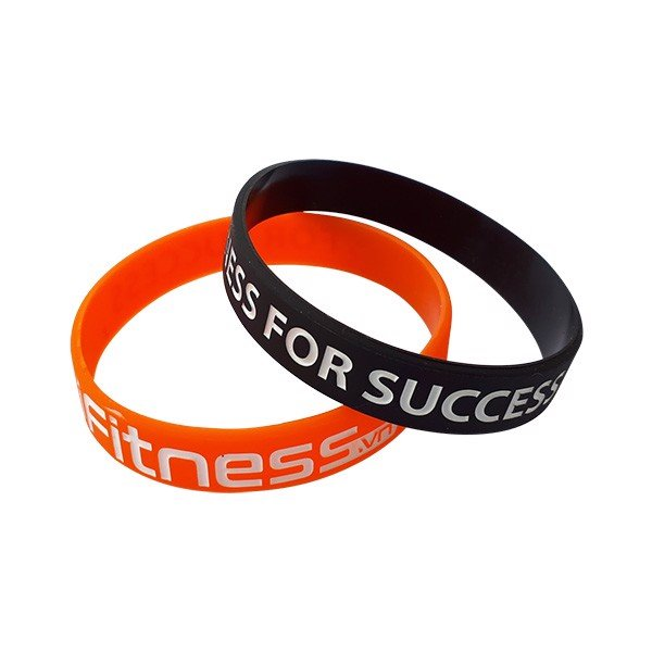 Gift Vòng đeo tay thể thao cao su Fitness for Success