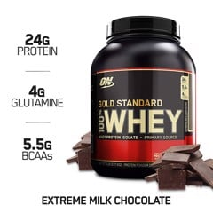ON Gold Standard 100% Whey 2.27kg Extreme Milk Chocolate