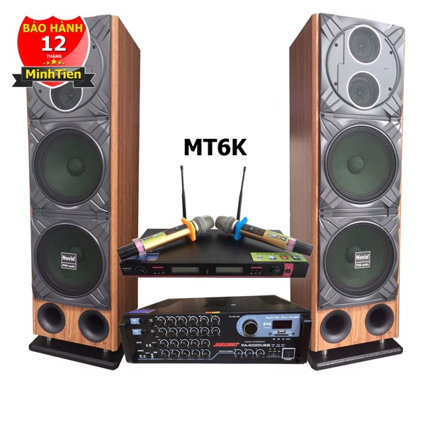 Dàn karaoke bluetooth PA6000 MT6K
