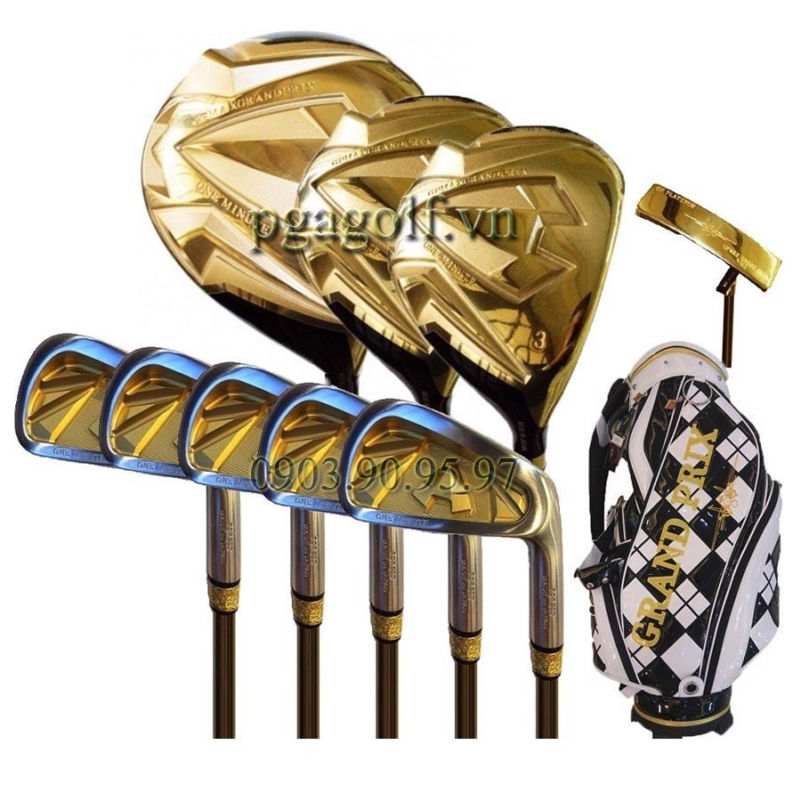 Bộ Gậy Golf Grand Prix One Minute Gold G57