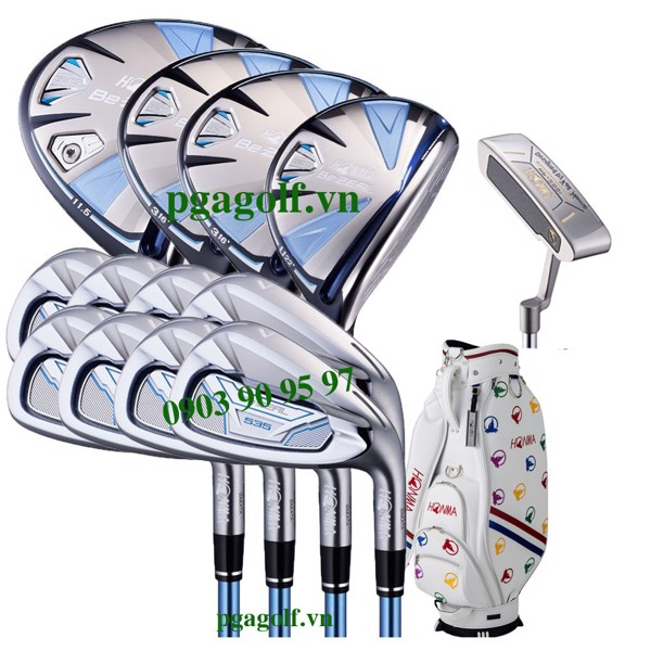 Bộ gậy golf Honma Be ZEAL 535 Ladies (New Model)