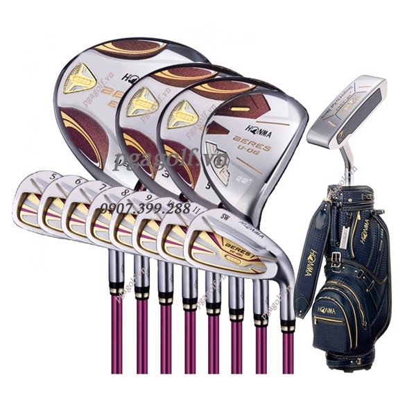 Bộ Gậy Golf Honma Beres E-06 3 Sao Ladies (New Model)