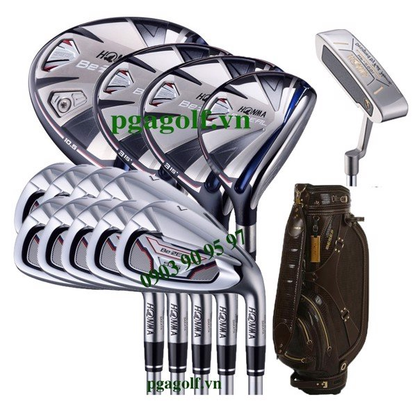Bộ gậy golf Honma BeZEAL 535 (New Model)