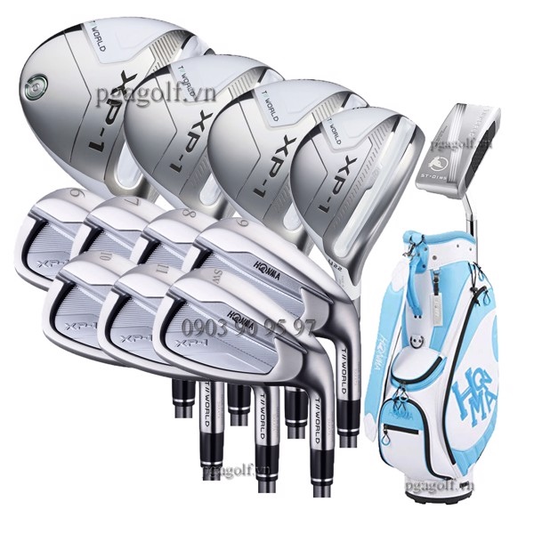 Bộ Gậy Golf Honma Tour World XP1 Ladies