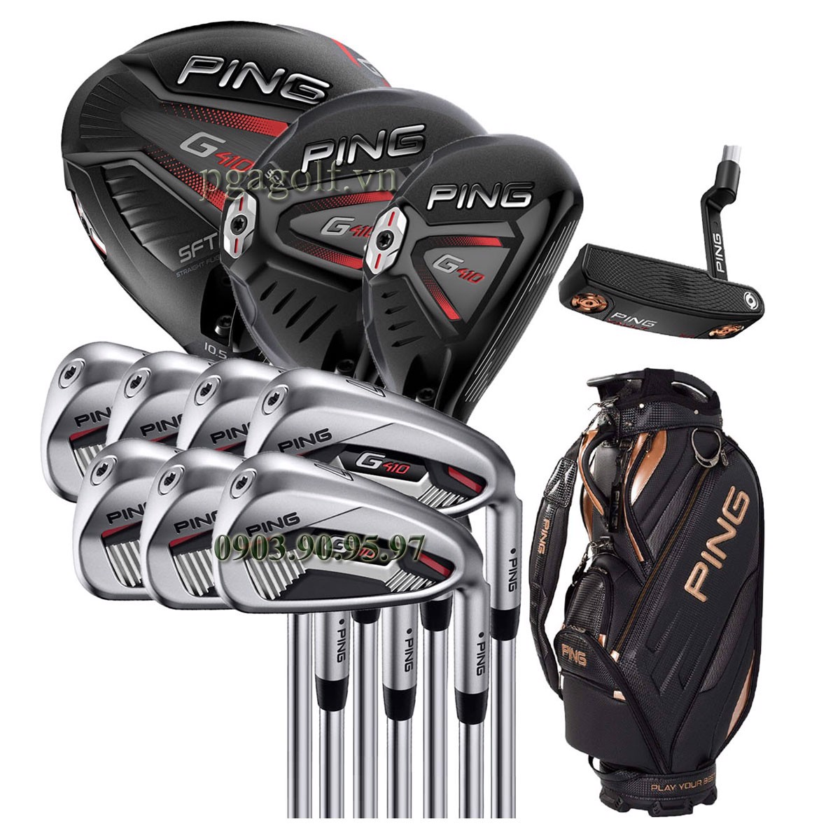 Bộ Gậy Golf Ping G410 ( New model)