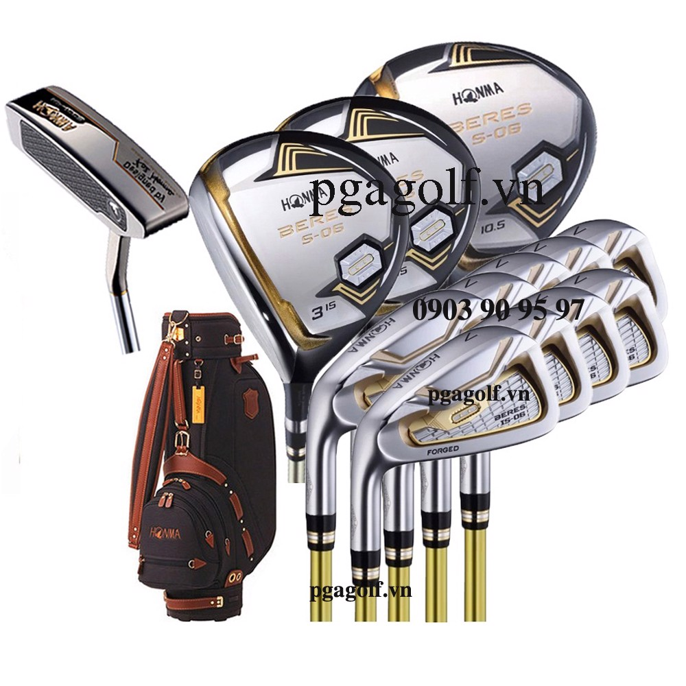 Bộ Gậy Golf Honma Beres S-06 2 Sao Left Hand (New Model)