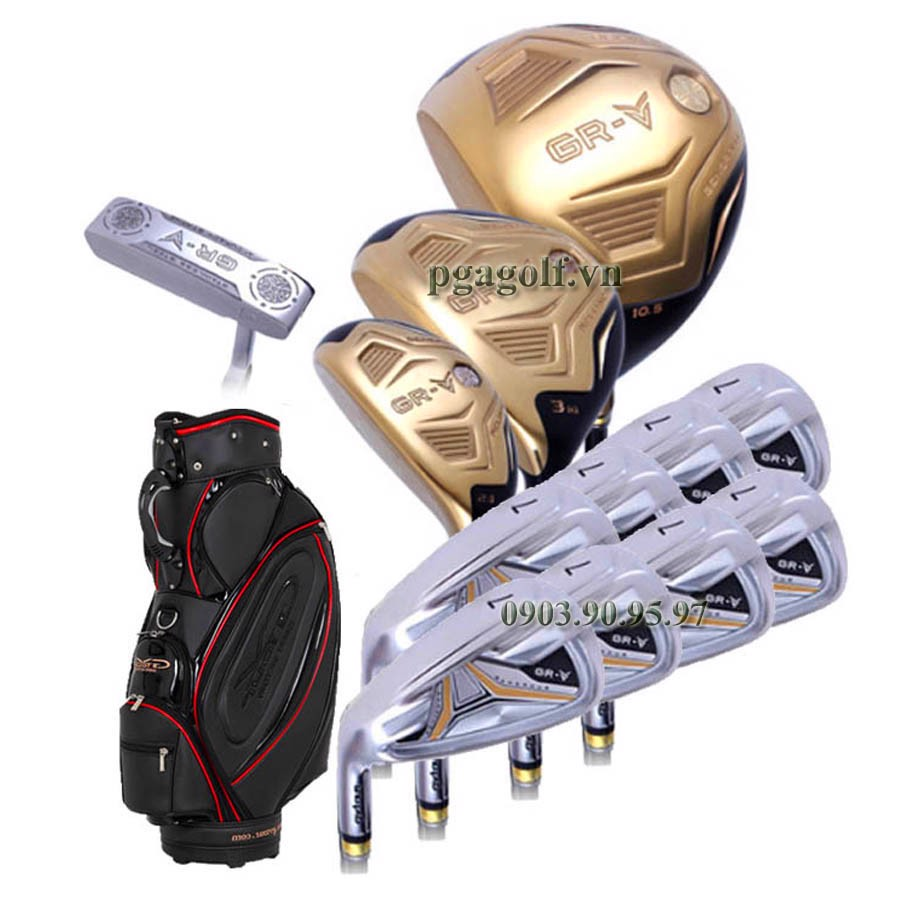 Bộ Gậy Golf GV-Tour GR-V Gold Lefthand