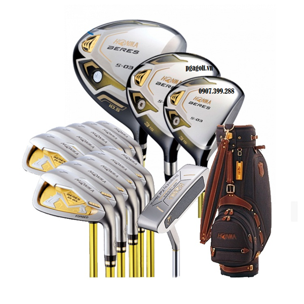 Bộ gậy golf honma beres S-03 3sao (Sold out)