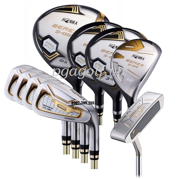 Bộ Gậy Golf Honma Beres S-06 2 Sao (New Model)