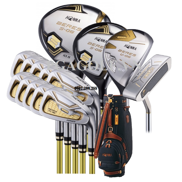 Bộ Gậy Golf Honma Beres S-06 3 Sao (New model)