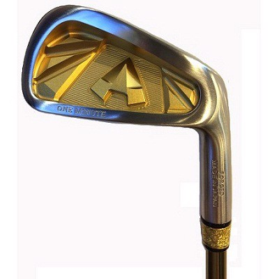 Gậy Golf Iron Set GrandPrix One Minute Gold