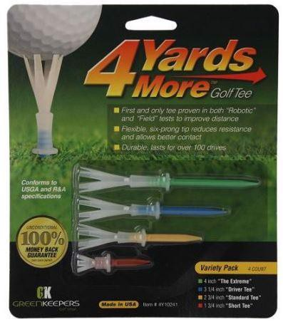 Tee Golf 4 Yards More