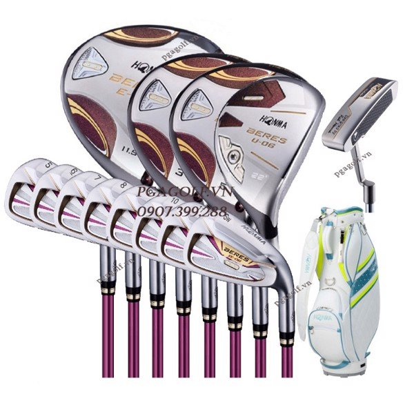 Bộ Gậy Golf Honma Beres E-06 2 Sao Ladies (New Model)
