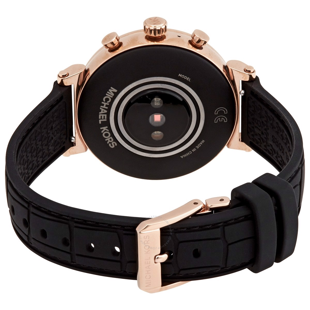 Đồng hồ unisex Access Gen 4 Sofie Rose Gold-tone and Embossed Silicone Smartwatch