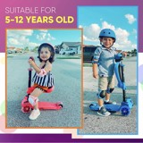 Xe Hurtle 3-Wheeled Scooter for Kids