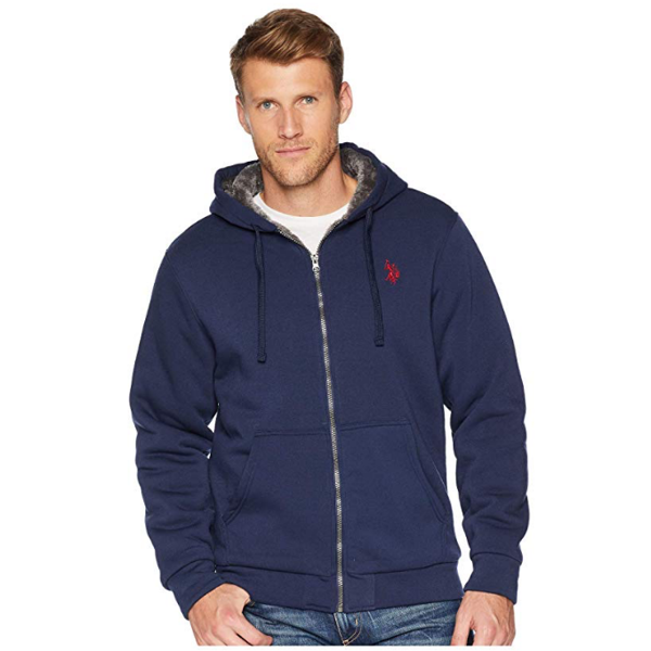 Áo khoác nam U.S. POLO ASSN. Solid Lined Fleece