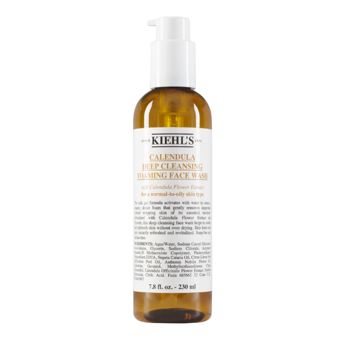 Kiehl's Calendula Deep Cleansing Foaming Face