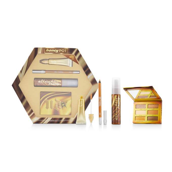 Bộ trang điểm Urban Decay 4-Pc. Honey Pot Set