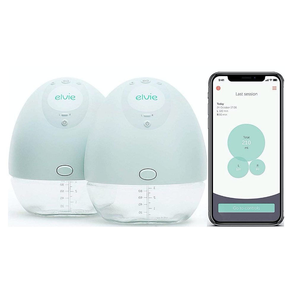 Máy hút sữa Elvie Pump Double Silent Wearable Breast Pump with App