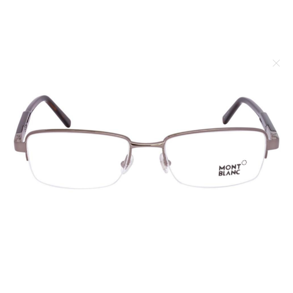 Kính unisex Montblanc Shiny Light Ruthenium Eyeglasses