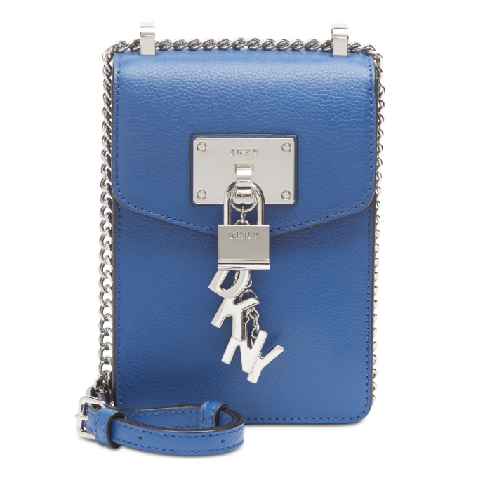 Túi nữ Elissa Pebble Leather Charm Crossbody