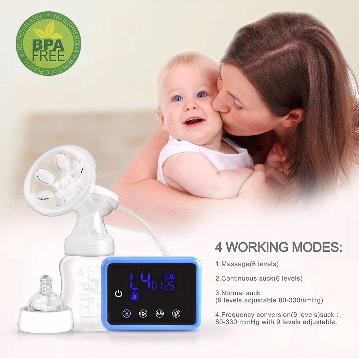Máy hút sữa Bellababy Double Electric Feeding Pumps Pain Free