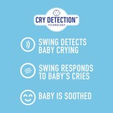 Nôi Graco Sense2Soothe Baby Swing with Cry Detection Technology, Sailor