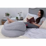 Gối nằm cho mẹ PharMeDoc Pregnancy Pillow with Jersey Cover