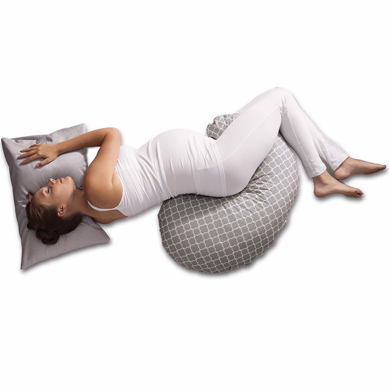 Gối nằm cho mẹ Boppy Pregnancy Support Pillow