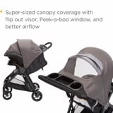Xe đẩy Safety 1st Smooth Ride Travel System Stroller