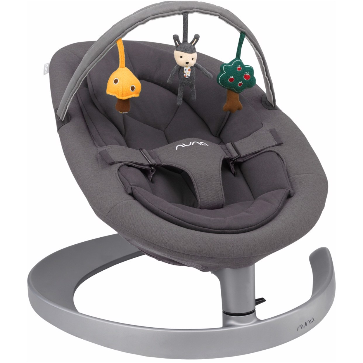 Nôi Nuna Leaf Grow Lounger Swing - Iron