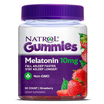 Kẹo dẻo Natrol Gummies Melatonin 10mg
