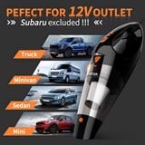Máy hút bụi xe hơi HOTOR Corded Car Vacuum Cleaner High Power for Quick Car Cleaning