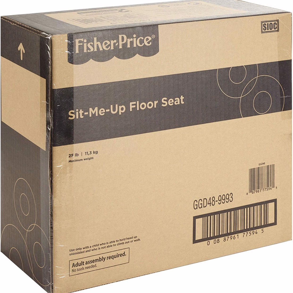 Ghế ngồi cho bé Fisher-Price Sit-Me-Up Floor Seat