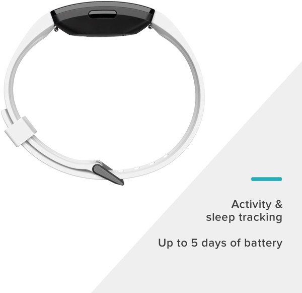 Fitbit Inspire HR Heart Rate & Fitness Tracker White
