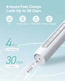 Máy đánh răng Fairywill UltraSonic Powered Electric Toothbrush ADA Accepted with 5 Modes White