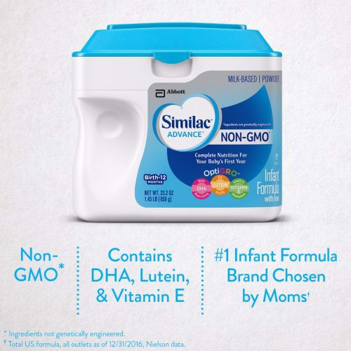 Similac Advance NON-GMO Infant Formula Powder 658g