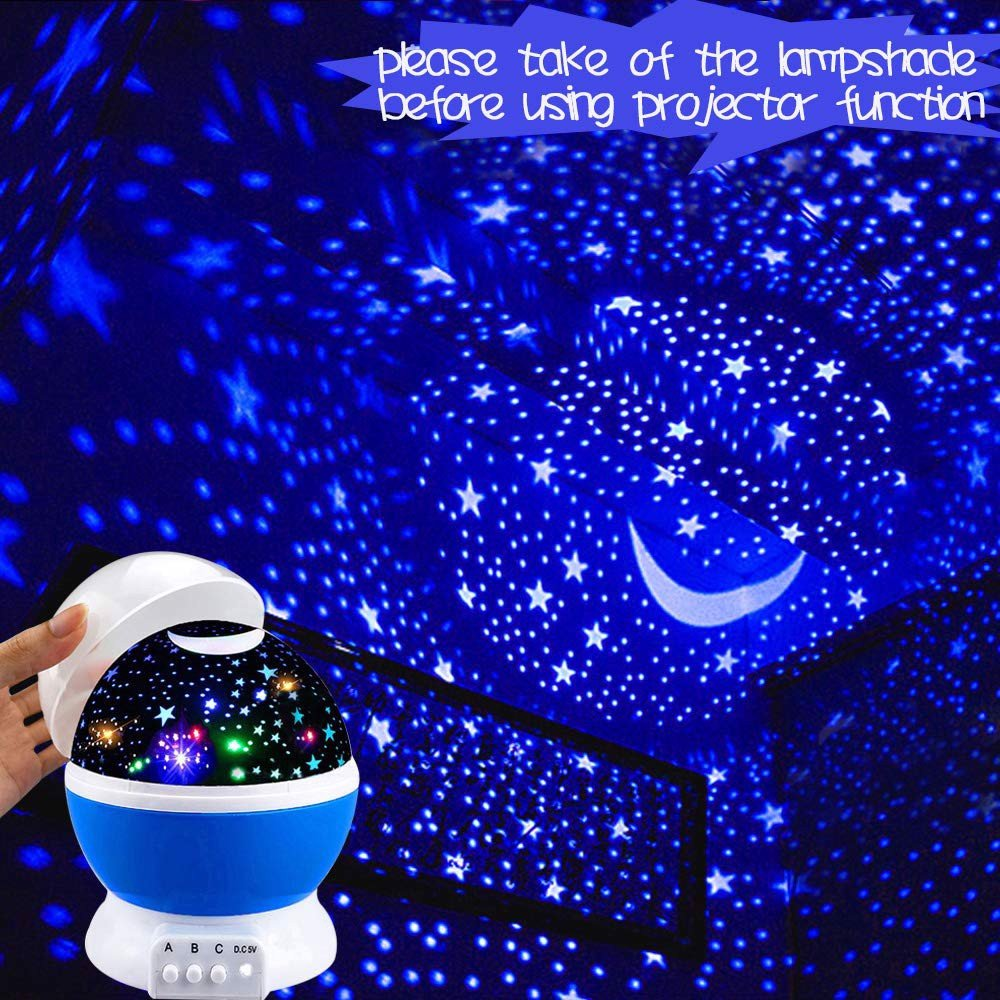 Đèn ngủ Wonderful Quiet Romantic Starlight for Kids Toys