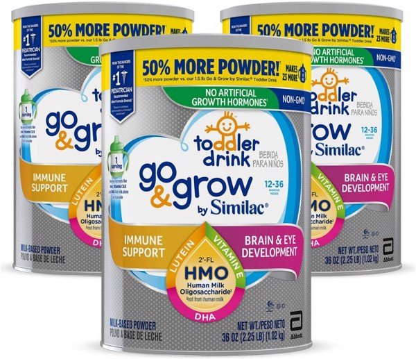 Similac Go & Grow NON-GMO Milk-Based Toddler 1.02Kg