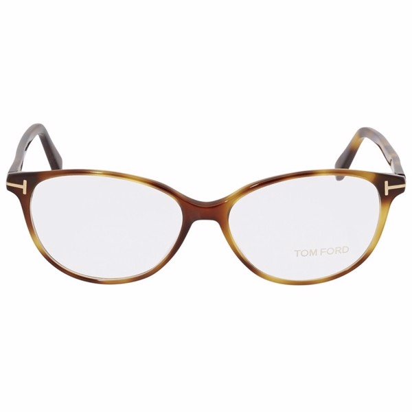 Tom Ford Tom Ford Blonde Havana Ladies Eyeglasses