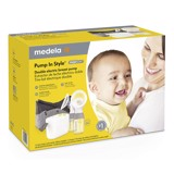 Máy hút sữa New Medela Pump in Style with MaxFlow, Electric Breast Pump Closed System, Portable Breastpump, 2020 Version
