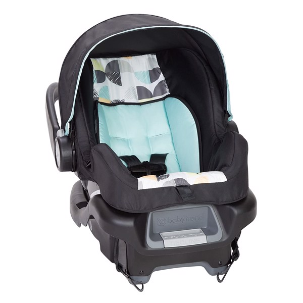 Xe đẩy kèm Carseat Baby Trend EZ Ride 35 Travel System, Doodle Dots