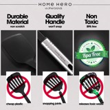 Home Hero Kitchen Utensil Set - 23 Nylon Cooking Utensils - Kitchen Utensils with Spatula - Kitchen Gadgets Cookware Set - Best Kitchen Tool Set