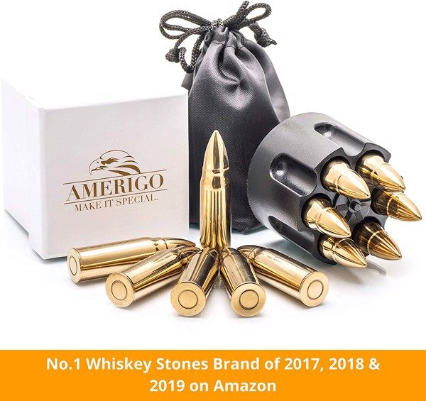 Chilling Whiskey Rocks Gift Set by Amerigo
