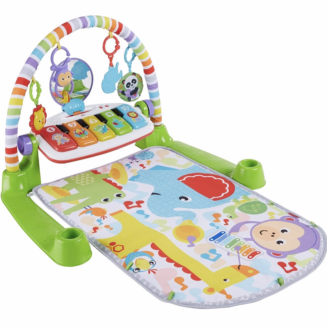 Đồ chơi cho bé Fisher-Price Deluxe Kick 'n Play Piano Gym