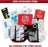 Bộ sơ cứu đa năng Swiss Safe 2-in-1 First Aid Kit (120 Piece) + Bonus 32-Piece Mini First Aid Kit
