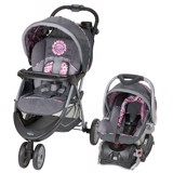 Xe đẩy kèm Carseat Baby Trend EZ Ride 5 Travel System, Paisley